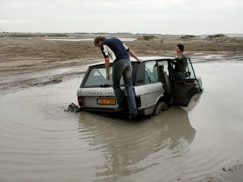 Moddermiddag maasvlakte 2005